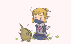 Link and Makar by gohe1090
