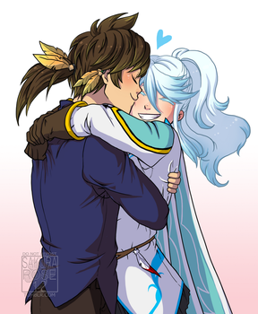 ToZ: Cuddle by Sakura-Rose12