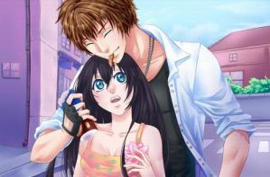 Kentin and Candy Date! by KioraLuvsKiba