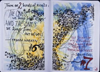 Sketchbook Project Limited Edition 2012 #6-7 by Nakilicious