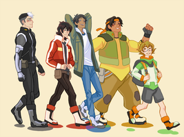 Team Voltron by Svedverite