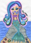 Mystic Mermaid Lenalee by GlitterFairy92