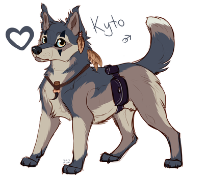 Kyto [myOCs] by Mihoku-san