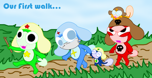 Our first walk... by cgaussie