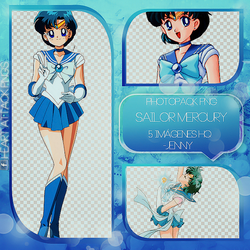 Photopacks Sailor Mercury Png's by JenniferBomerGrey