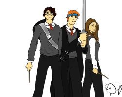 Harry Potter Musical Trio by dudeguyryan