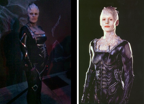 Borg Queen for Halloween by Artist-Anika