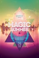 Magic Summer Flyer by styleWish
