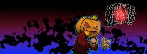 you're next halloween FB header by awgie