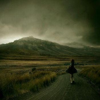 The lady from death valley by theflickerees