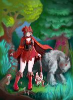 Mature Red Riding Hood by fatalis-sacristia