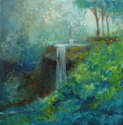 Daily Doodle: Little Waterfall by mynti