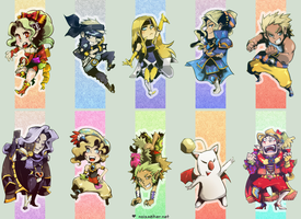 Final Fantasy VI: Bookmarks by karniz