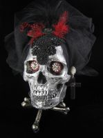 Mourning skull by bchurch