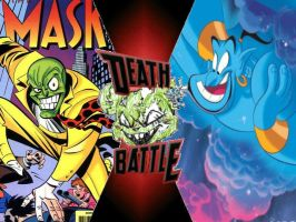 The Mask vs Genie by ToxicMouse77