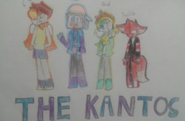 Old drawings of the crew by Startubegaming