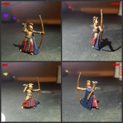 Lord of the rings elf archer  V2 by FatherGabriel