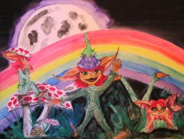 Tricksy Pixies by mayanbutterfly