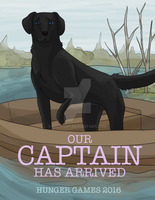 Captain poster by Iggypuff
