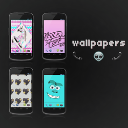 Wallpapers by BlessedParadise