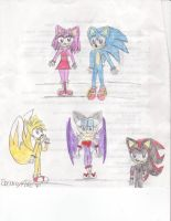 Sonic and the group by sonamy4life