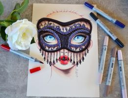 Masquerade by Lighane
