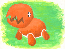 Trapinch Painting