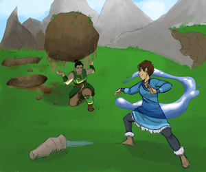 Training in the mountains by Thea0605