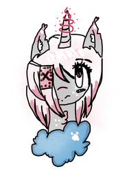 Aura Fang (New and improved Oc) Rough design by Pinkie---Dash