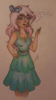 Original drag queen ~Finished~ by STAR1518jb