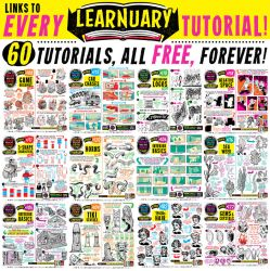 Links to 60 TUTORIALS! by STUDIOBLINKTWICE
