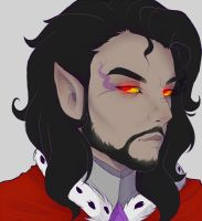 Humanized King Sombra by Evehly