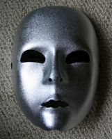 silver mask by t-gar-stock
