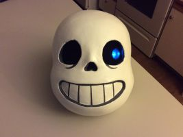 Sans Head (WIP) by AttackGoose