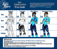 Digital Commission Rates 2017 *OPEN* by DRMoore