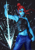 Undyne the Undying by ronri
