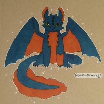 HTTYD trying copic by DeetailedDrawings