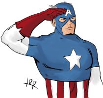 Cap Salute by hey-its-LDR