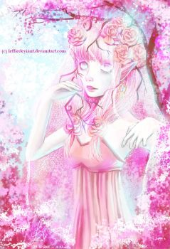 Lady Rose |Speedpaint|Art Trade| by LeffieDeviant