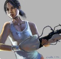 Chell-practice by sweethaven