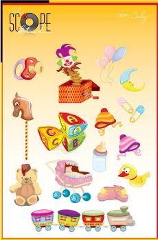 Clipart Series - Baby by sameer