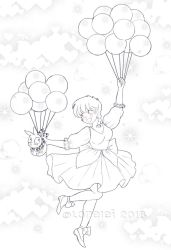 Love balloons by Lorelei2323