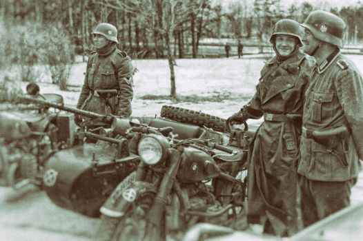 Germans and a BMW by TeddyGraphics
