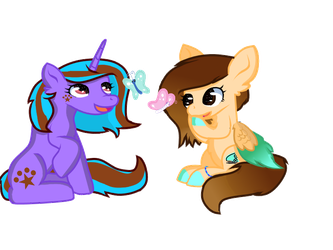 oh Look Butterfly they are so cute (AT) by FlakyPorcupine1989