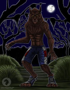 Werewolf of fever swamp by BlueRavenfire