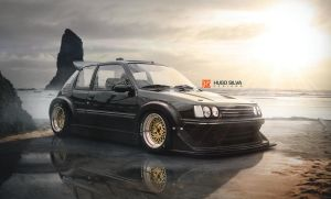 peugeot 205 on steroids by hugosilva