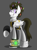 Markers Pone - Fallout Equestria by artwork-tee