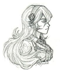 Corrin Sketch by Or003