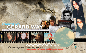 Gerard Way wallpaper 034 by saygreenday
