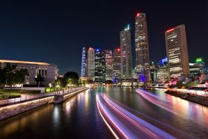 Singapore: Boat Quay by Lau888